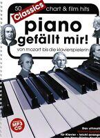 Klavier Noten : Piano gefällt mir  - 50 Classics - leichte Mittelstufe