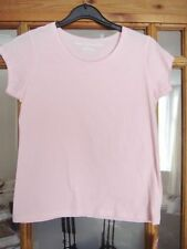 Marks and Spencer Girls' Scoop Neck 100% Cotton T-Shirts & Tops (2-16 Years)