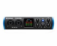 PreSonus Studio 2|4c 24c USB-C 2-Input 2-Output Audio MIDI Studio Interface