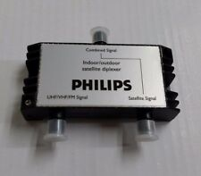 Philips Digital Indoor/Outdoor Satellite Diplexer UHF/VHF/FM Signal SDW5004O/17