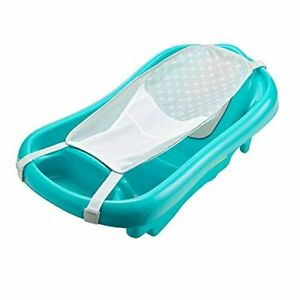 The First Years Newborn to Toddler Tub with Bath Sling Blue