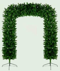 Christmas Tree Arch 8ft - Green