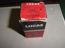 NOS Lucas Headlight Switch 1967 MGB + MGBGT 1960-63 Sunbeam Rapier Hillman Minx