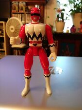 "Explorer Red Ranger Vintage Power Rangers Lost Galaxy 4"" Figure 1998 Bandai MMPR"