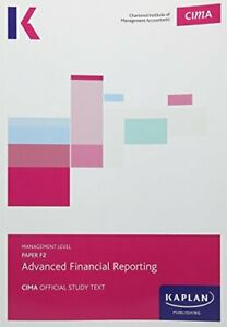 CIMA F2 Advanced Financial Reporting - Study Text Book The Cheap Fast Free Post