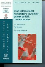 Droit international humanitaire coutumier