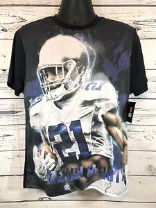NFL DALLAS COWBOYS Ezekiel Elliott #21 Sublimation Size Youth XL Shirt