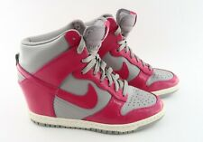Nike Dunk Ski High- Womens- Size 8- Fushia- [528899-001]- Hidden Wegde- Running