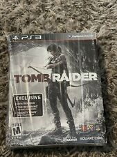 Rare Tomb Raider The Beginning Complete W/ Artwork Book Ps3 Sony PlayStation 3