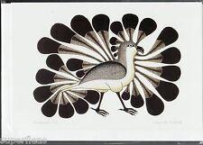 New • Kenojuak Ashevak Inuit • ART CARD • Audacious Owl