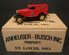 ERTL Die Cast Metal Budweiser Anheuser-Busch 1932 Ford Delivery Truck Bank