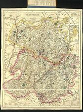 Antique maps, Shropshire