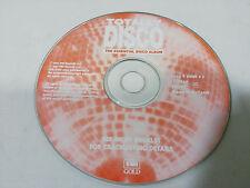 TOTALLY DISCO THE ESSENTIAL DISCO ALBUM 1997 - DISCO DANCE MIX - CD SIN CAJA