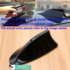 NEW Black Car Radio FM/AM Signal Aerial Shark Fin Antenna For Vauxhall Insignia