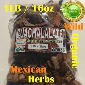 Cuachalalate Bark Seca Palo Cuachinala 16oz Organic Wild  Mexican Herbs !!!