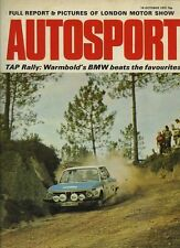 Autosport October 19th 1972 *Laguna Seca Can Am*