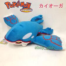 "Pokemon Kyogre #382 Plush Soft Toy Doll Stuffed Animal Teddy Cuddly Figure 14"""
