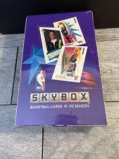 1991-1992 SKYBOX BASKETBALL CARDS BOX SEALED 36 PACKS Michael Jordan