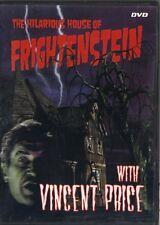 THE HILARIOUS HOUSE OF FRANKENSTEIN~1971 RARE VG/C DVD~4 EPISODES/SATURDAY AM TV