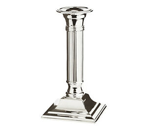 Candlestick Holder Silver Plated Candle Holder Wand Candles 15cm