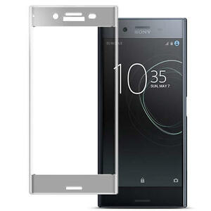 Full Cover 3D Curved Tempered Glass Screen Protector For Sony Xperia XZ Premium