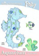 Anita Goodesign Baby Aquarium Embroidery Machine Design CD
