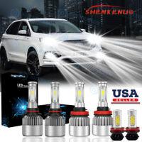 6x For Chrysler PT Cruiser 01-05 9005 9006 Headlight /& Foglight LED Combo Bulbs