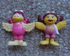 Vintage Mcdonalds BIRDIE Bendy Bendable PVC Figure Lot RARE 1988 & 1995 Toy