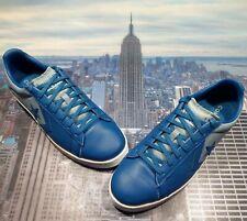 Converse Pro Leather Ox Low Top Court Blue/Blue Slate-White Men Size 9.5 167818c