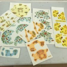 50 Sheets Ceramic Decals Transfers Lithos Pottery Porcelain  Butterflies Kiln