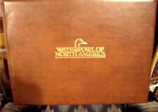 Water Fowl of North America Giant Leather  Book of Limited Edition signed Prints