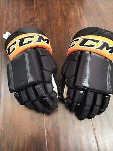 ccm pro stock hockey gloves 15