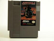 Airwolf by Acclaim Nintendo NES 8-bit GAME ONLY-Cleaned & Works!!!