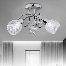 LED Crystal Ceiling Light Chandelier 3 way Lamp Kitchen Bed Living room Lights