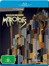Metropolis Reconstructed & Restored NEW B Region Blu Ray