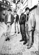 """The Smiths - Montmartre Paris 1984  -   33"""" x 24""""  B&W POSTER *Morrissey Marr*"""