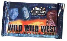 BOOSTER De 9 Cartes WILD WILD WEST Le Film (Will Smith)