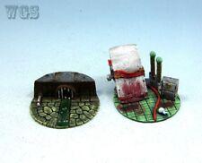 WGS painted Malifaux - Metal Base Plugin 2 (50mm)  RR2