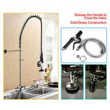 Commercial Kitchen Rinse Spray Head Sprayer Faucet Tap Mixer + Flexible Hose