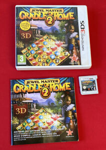 Jewel Master Cradle Of Rome 2 - Nintendo 3DS - TESTED