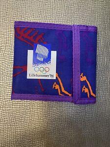 lillihammer 1994 olympics wallet  NWT