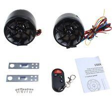 Waterproof Mini Amplified Motorcycle Speakers Mp3 Player FM Radio Speaker Alarm