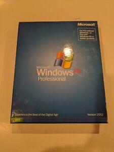 NIB Sealed Microsoft Windows XP Professional English Retail Version v2002