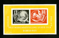 Germany Stamps # B21a VF OG Hinged S/S Catalog Value $25.00