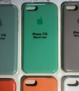 green Apple iPhone 7/8 Silicone Case Add Protect Phone + Still Feels Good Light