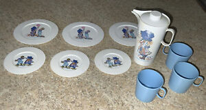 Vintage Chilton Aluminum Specialty Holly Hobbie Toy Play Dishes 11 Pieces
