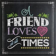 A FRIEND LOVES AT ALL TIMES - HARVEST HOUSE PUBLISHERS (COR) - NEW HARDCOVER BOO