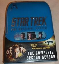 Star Trek: The Complete Second Season (7-DVD Set, 2004, Collector's Edition) NEW