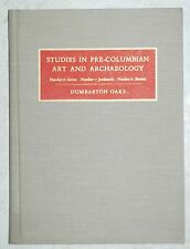 Studies in Pre-Columbian Art and Archaeology Nos. 6-8 Dumbarton Oaks 1970