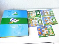 5 Kursmünzen-sätze Zur Fútbol WM __ 4x 2006_ 1x 2010 __ Con Album _